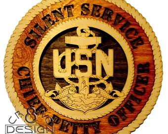 CPO Silent Service 10.5 inch laser cut