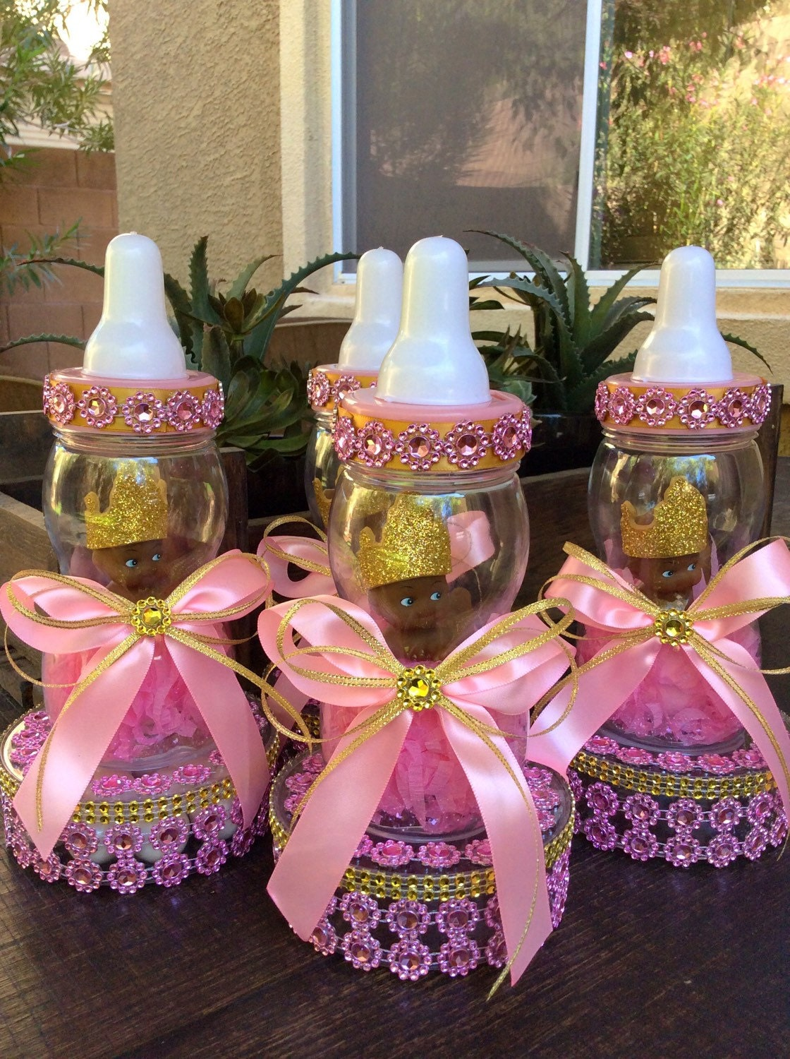 one princess baby shower centerpiece little by marshmallowfavors