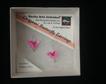 Origami Butterfly Jewelry