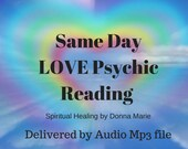 Same Day LOVE Psychic Reading, 20min Psychic Reading, medium, Psychic Readings