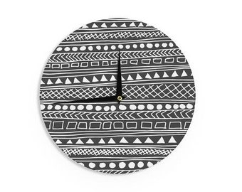 "Wall Clock - Black White Fimbis ""Redefined BW"" FF1014A Great Gift Idea!"