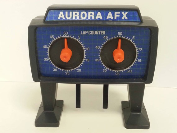 Free shipping aurora afx lap counter slot car by for Afx templates