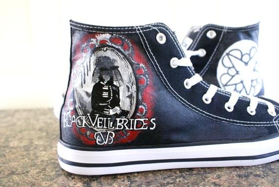 Black Veil Brides Canvas Shoes