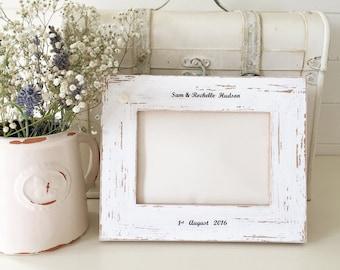 Personalised Wedding Photo Frame Gift