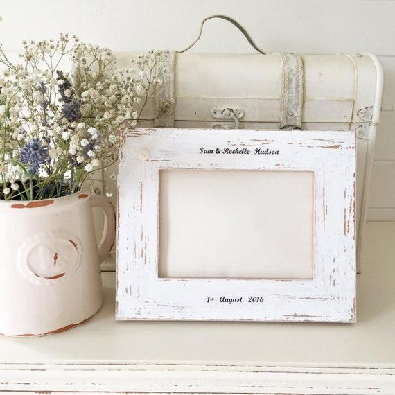 Personalised Wedding Photo Frames Uk : Personalised Wedding Photo Frame Gift