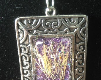 Ornamental Grass necklace