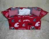 Washington State University Tissue Box Cover