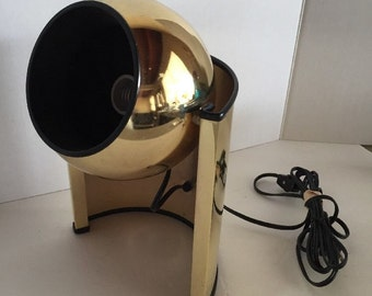 VTG MID CENTURY Modern Eyeball Floor Uplight Spotlight Swivel