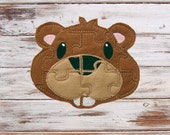 Toddler Puzzle - Kids Puzzle Games -  Beaver -  Soft - Easy Puzzles - Educational Toy - Travel - Learning