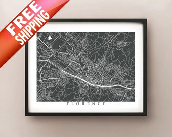 Florence Map Print