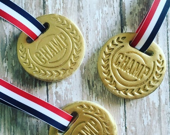 Medal sugar cookies