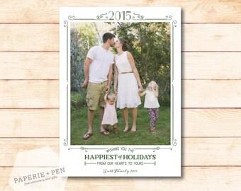 Love & Whimsy  // Holiday Photo Card