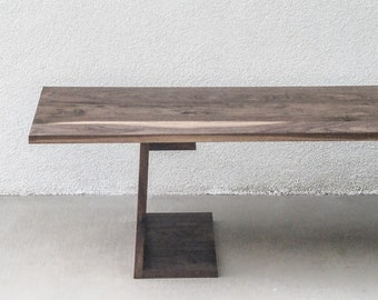 Strand Cafe Table   A Modern Coffee Table Featuring Cantilever, Minimalism  And American Hardwoods.