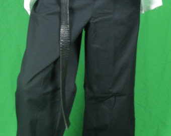 Navy Blue drawstring pants -  BARGAIN