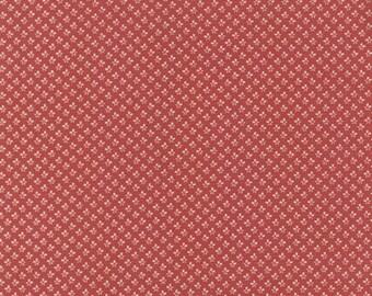 Larkspur Floral Buds Red - 1/2yd