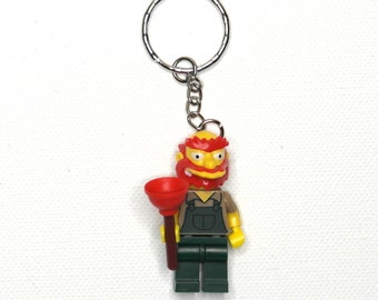Groundskeeper Willy (Season 2) The Simpsons Lego Keychain