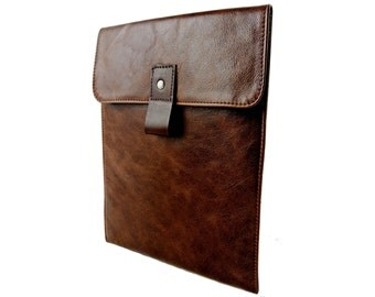 Personalized Leather iPad Air Case