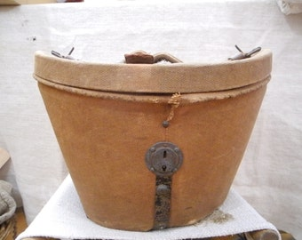 Antique french hat box - XIX