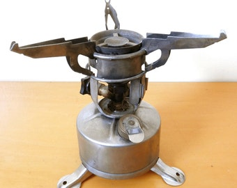 Antique 1942 U.S. Army Military Field Camp/Cook Stove -C.M. MFG Co. - Complete Portable Gas Stove