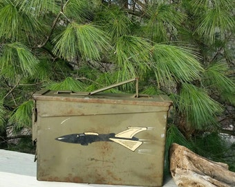 Ammo Case Army Green with Bomber