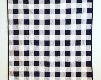 Gingham Check Quilt