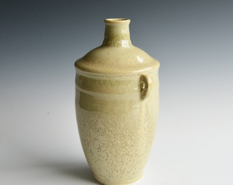 Handthrown bottle vase