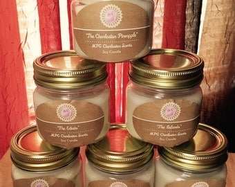 Charleston Signature Scents Soy Candles Mason Jar Soy Candles All Natural Soy Candles