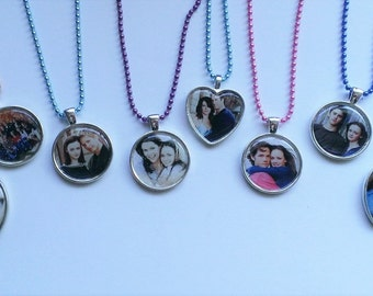 YOU PICK Character Ship Cameo Necklace
