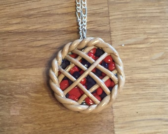 Mixed Berry Pie Necklace