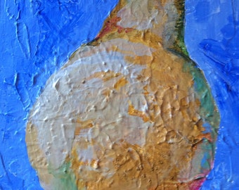 Pear-Fect Acrylic Painting on Wrapped Canvas