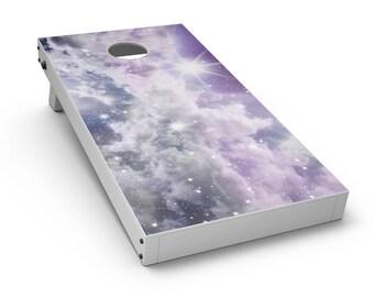 Sparkly Space - Cornhole Board Skin Kit