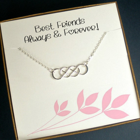 Christmas Gift Ideas For Girl Best Friends: Best Friend Gift Best Friend Necklace Best Friend Jewelry