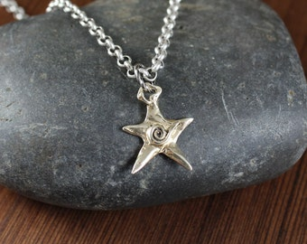 You're a Star ~ Silver and Gold ~ pendant necklace