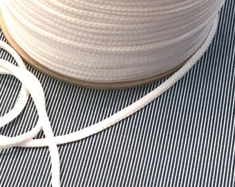 Cotton cord 4mm white