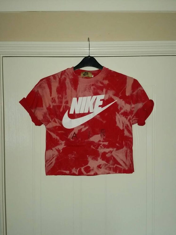 4962633c67b unisex customised nike tie dye cropped t shirt by mysticclothing 70%OFF