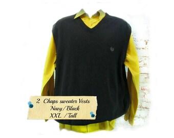 Men's Sweater Vests | Etsy