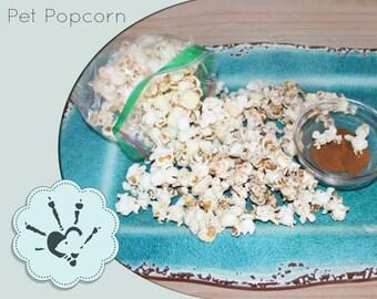 Pet Popcorn - Herb infused Popcorn -  Healthy Treat - Rat Treat - Chinchilla Treat - Air Popped popcorn -  Rodent Treat - Small Animal Treat
