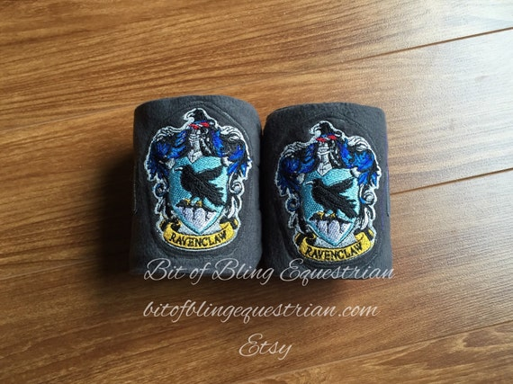 2 Wizard House Embroidered Polo Wraps