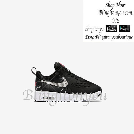 the latest 42dfb e57bc Nike Infant Toddler Air Max Thea Bling by Blingitonyouboutique 85%OFF