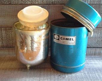 Vintage Camel Thermos
