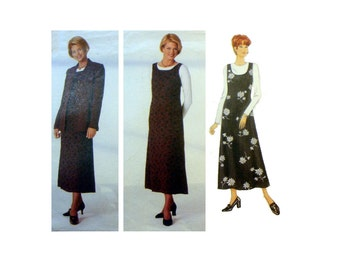 "Women's Jumper, Top and Jacket Pattern Misses Size 14, 16, 18 Bust 36, 38, 40"" Easy to Sew Uncut OOP Butterick 4765"