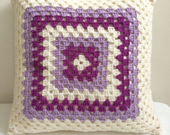 Crochet cushion Granny square