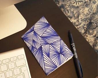 Hand Made A6 Geometric Notebook