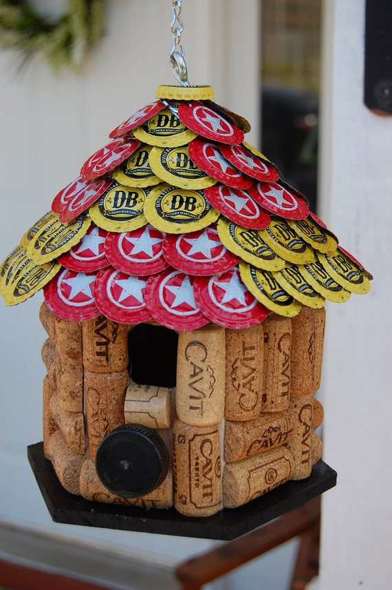 Star hill and devil 39 s backbone cap wine cork by for How to build a birdhouse out of wine corks