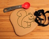 Squirrel Chipmunk Cookie Cutter B0195