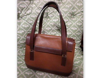 Renaud PELLEGRINO, Paris, vintage camel leather bag