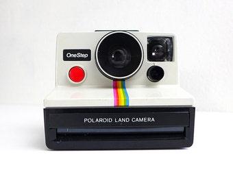 Vintage Rainbow Polaroid, One Step Instant Camera, Polaroid Rainbow