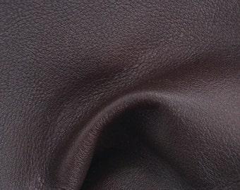 """Cedar Leather Cow Hide 4"""" x 6"""" Project Piece 2 1/2 ounces TA-34531 (Sec. 3,Shelf 6,A,Box 2)"""
