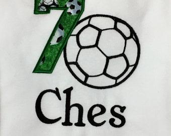 Personalized Soccer Birthday Shirt