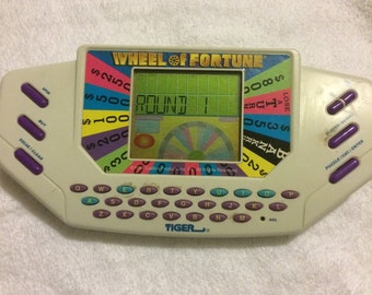 Tiger electronics Wheel of Fortune